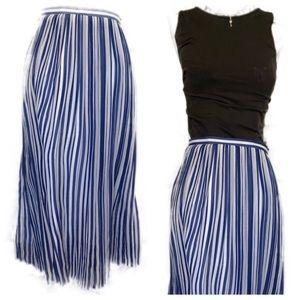 NWT Joie pleated silk skirt